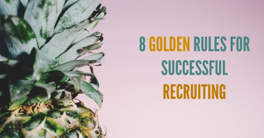 8 golden rules